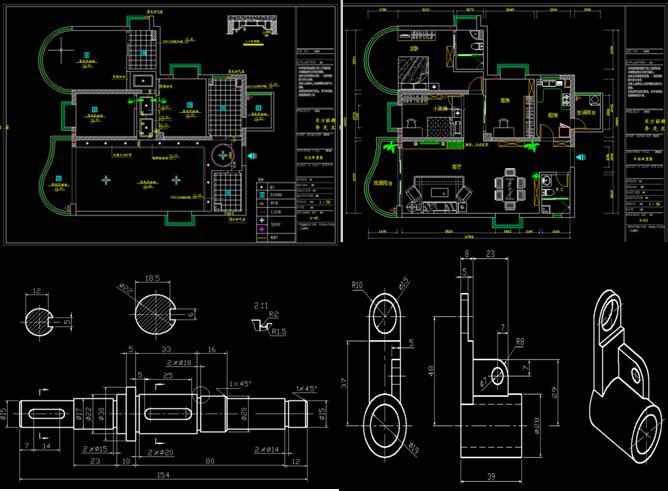 淮安机械制图培训 机械制图软件都用在哪些方面