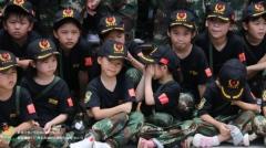 「黄埔军校未来战士夏令营」狼王告诉你参加 军事夏令营能全面锻