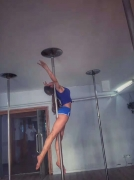 广安钢管舞爵士舞钢管舞舞蹈教练培训包学会考证