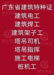 深圳兴东中级技工证、建筑八大员培训考证