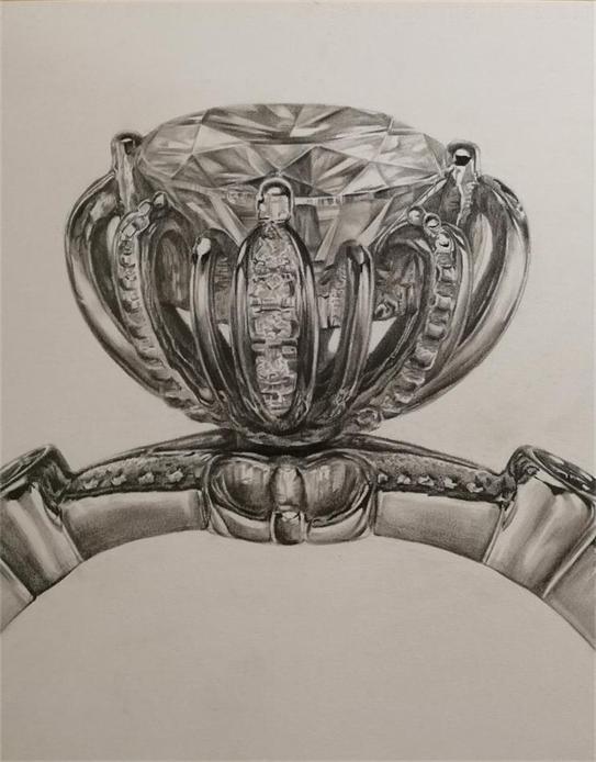 市桥美术培训-珠宝美术手绘班-市桥名玛雅画室