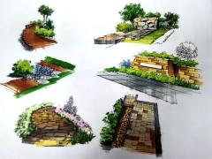 市桥地铁附近美术培训-环艺建筑手绘 小班-名玛雅画室