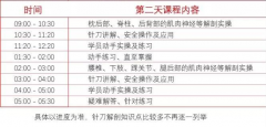 针刀班2020年2月29日(广州班)针刀微创新鲜解剖公益研修