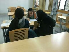 线上汉语学习班有不少人是来自韩国的