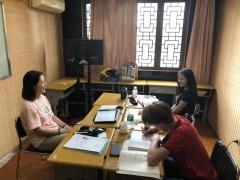 上海高水平的线上中文培训静安寺这里有
