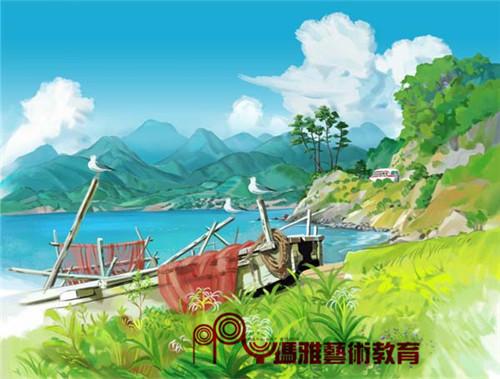 广州名玛雅线上CG直播课-玩转ps笔刷和角色设计,随时随地学