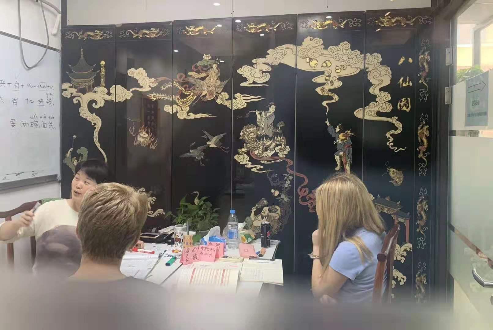 网络线上上海学习汉语外国人找到好的方法