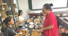成都电子科大茶艺培训班,零基础专业学茶艺技术