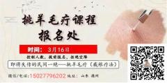 李红老师挑羊毛疔技术培训